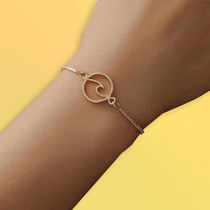 Wave Bracelet - Nature and Fashion Jewellery