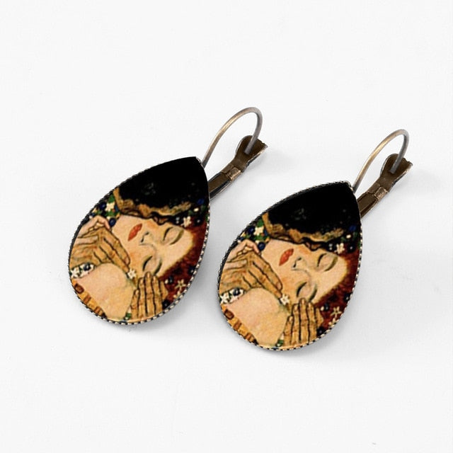 Gustav Klimt Earrings