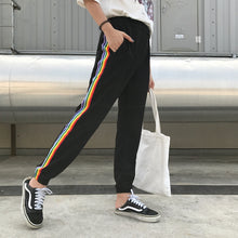 Load image into Gallery viewer, RAINBOW STRIPED Pants