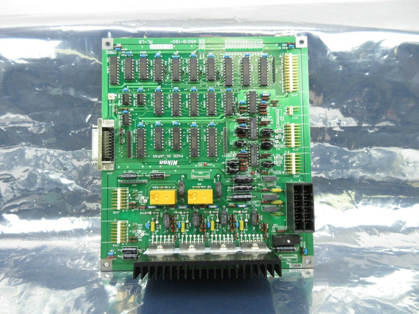 Nikon 4S018-160 Interface Control Board PCB RL-Lø NSR-S202A Used Working
