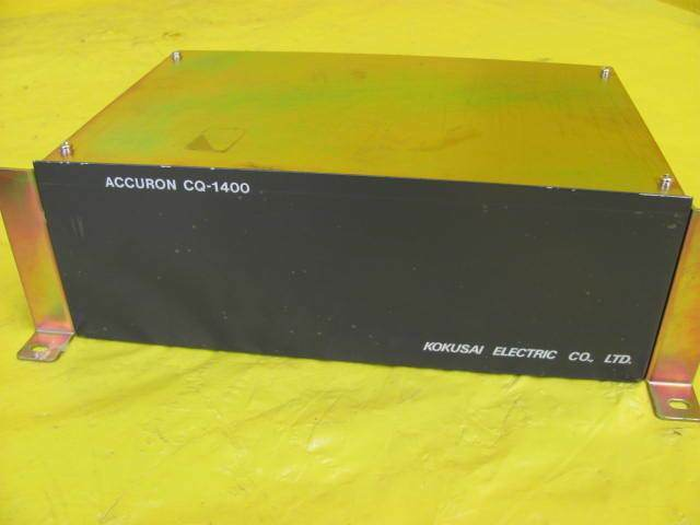 Kokusai Electric CQ1400A(01) Accuron CQ-1400A Digital Direct Controller Set Used