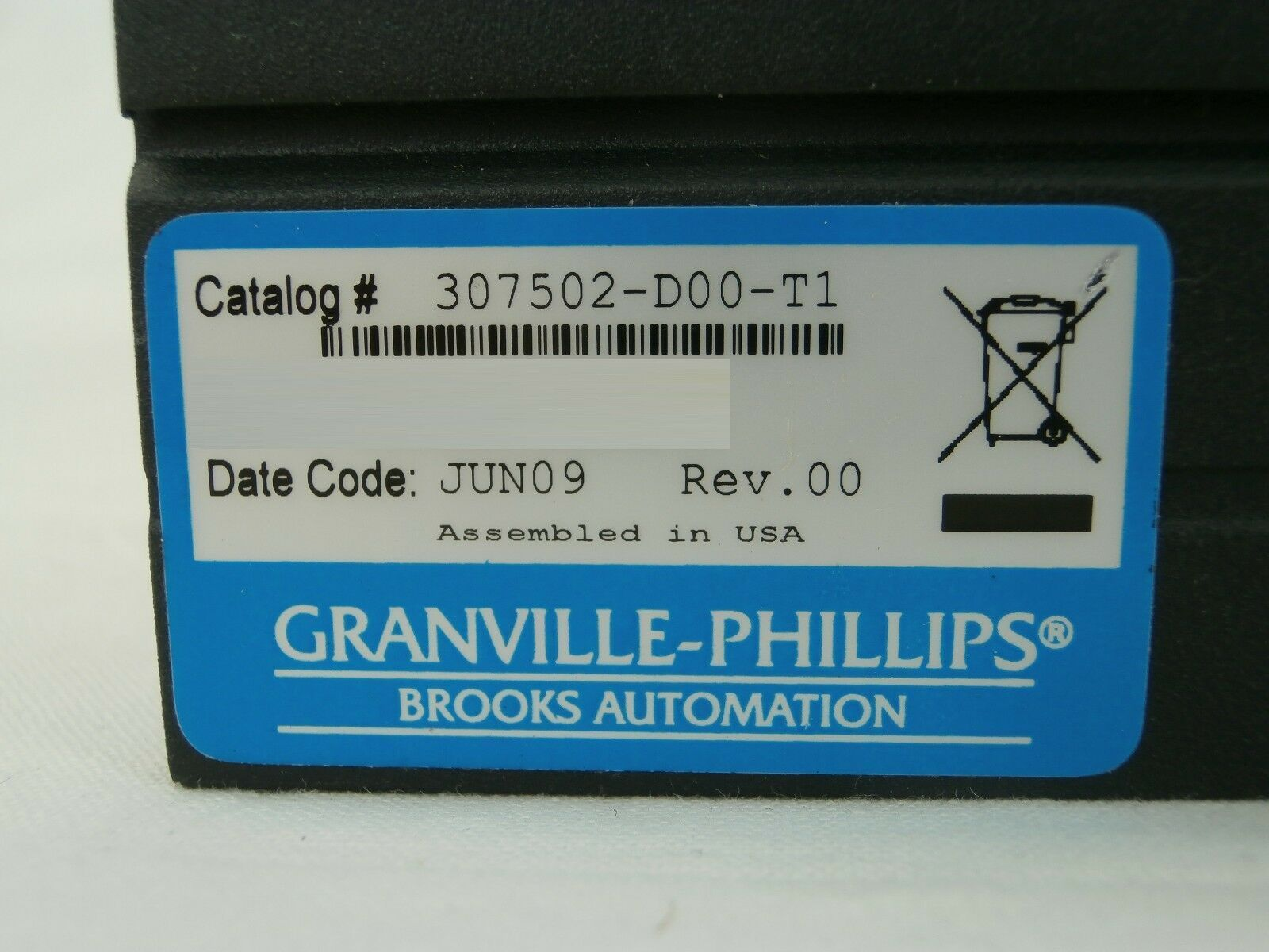 Granville-Phillips 307502-D00-T1 Vacuum Gauge Controller 307100 Used Working