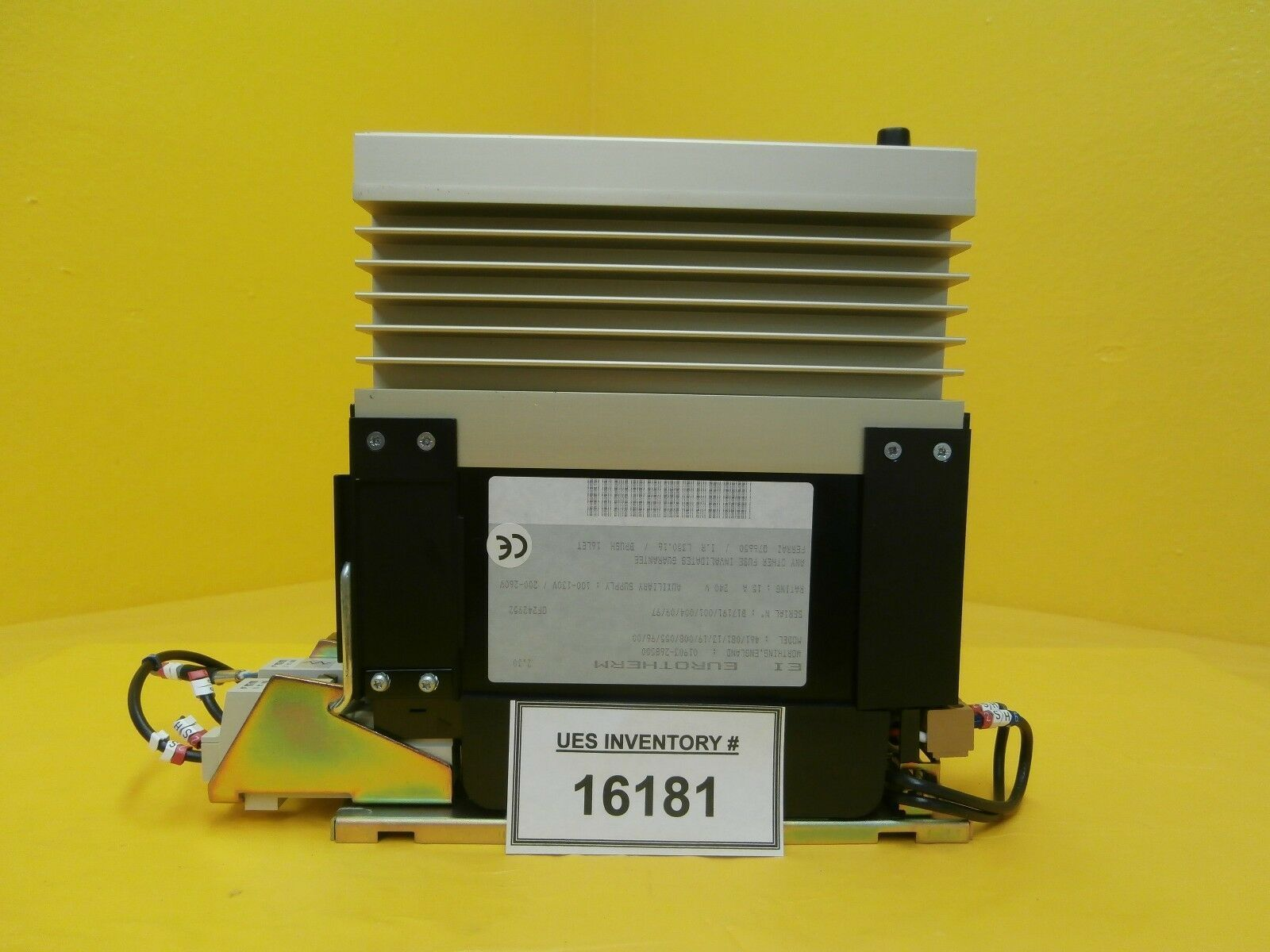 Eurotherm 461/081/13/19/008/055/96/00 Analogue Input Thyristor Unit 461 Used