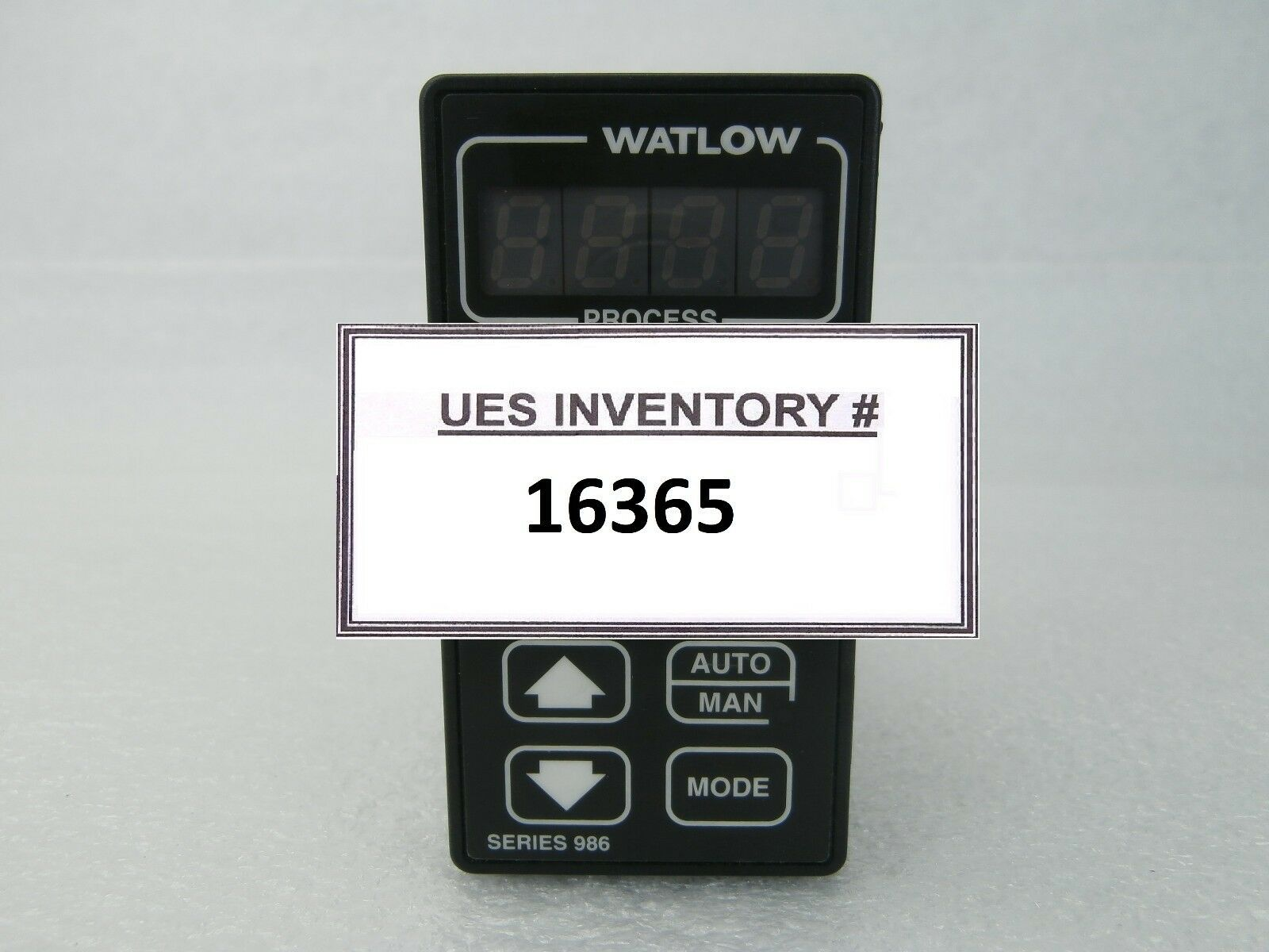 Watlow 986A-20FD-MARG Microprocessor-Based Temperature Process Controller Used