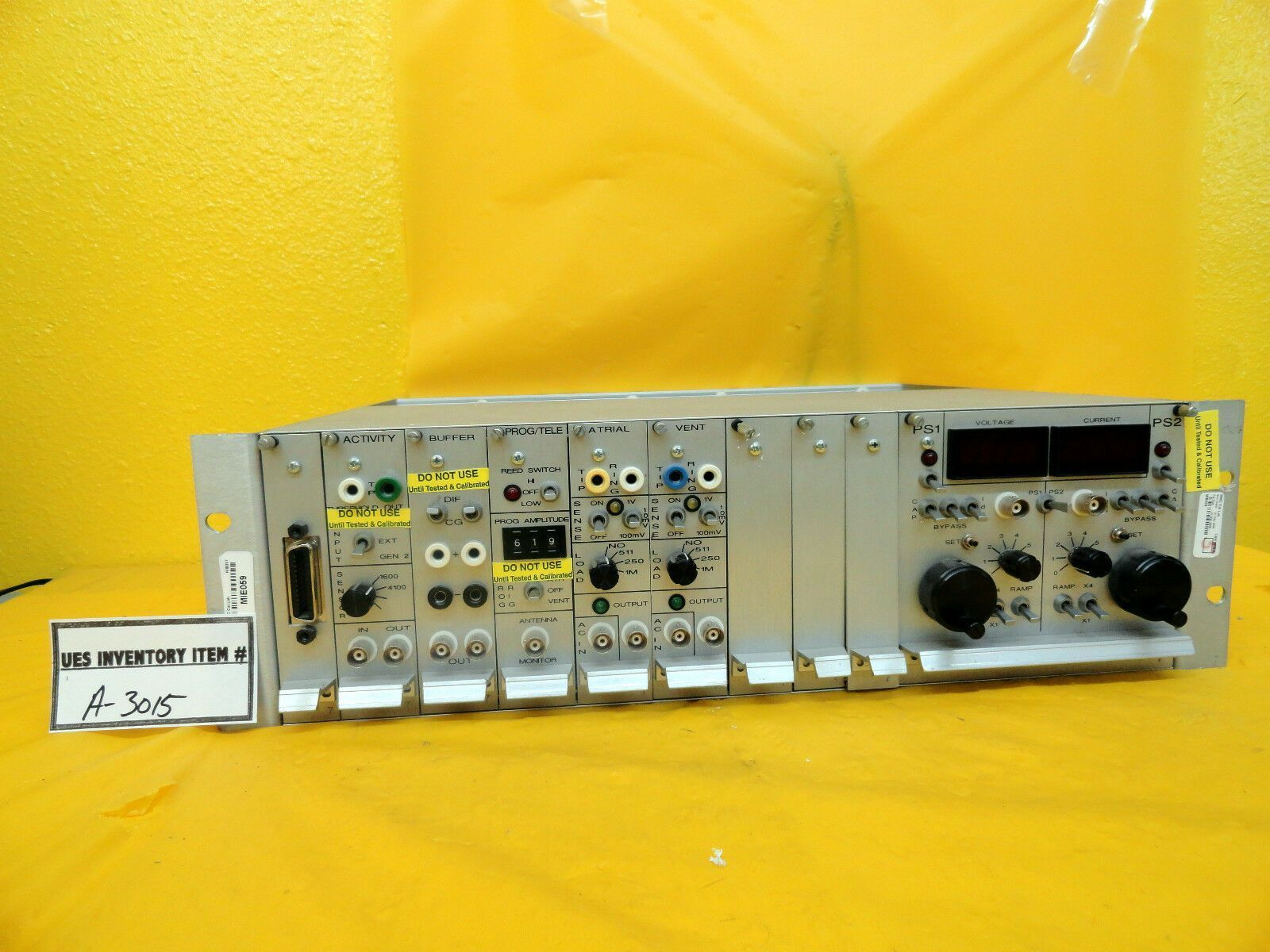 AX Corporation Test Module P5005 CUF005 A/V005 P/T005 Used Working