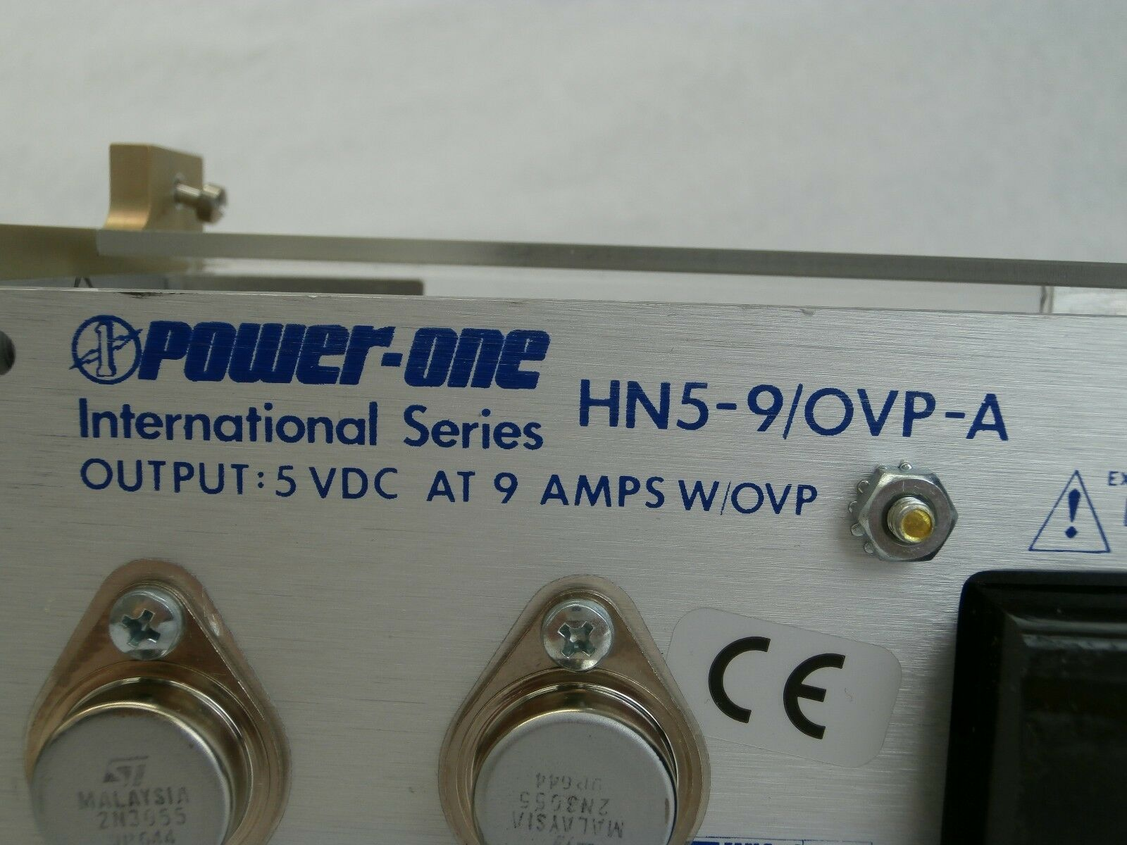 Power-One HN5-9/OVP-A Power Supply Lot of 2 KLA-Tencor AIT I Used Working