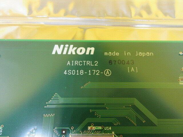 Nikon 4S018-172-A Air Control Card PCB AIRCTRL2 NSR-S202A System Used Working