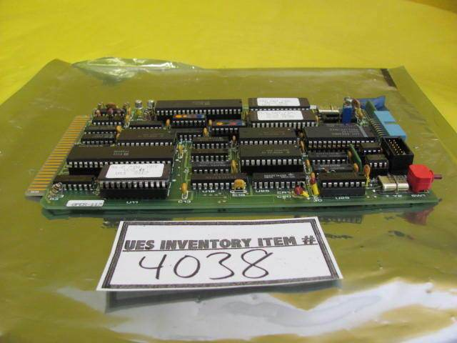 BTU Engineering 3161524 Video Interface Board PCB Card EPROM V2.3 Used Working