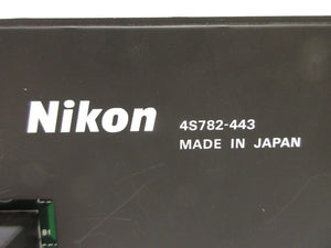 Nikon 4S782-443 ALCP Temperature Controller with Probes NSR-S202A Used Working