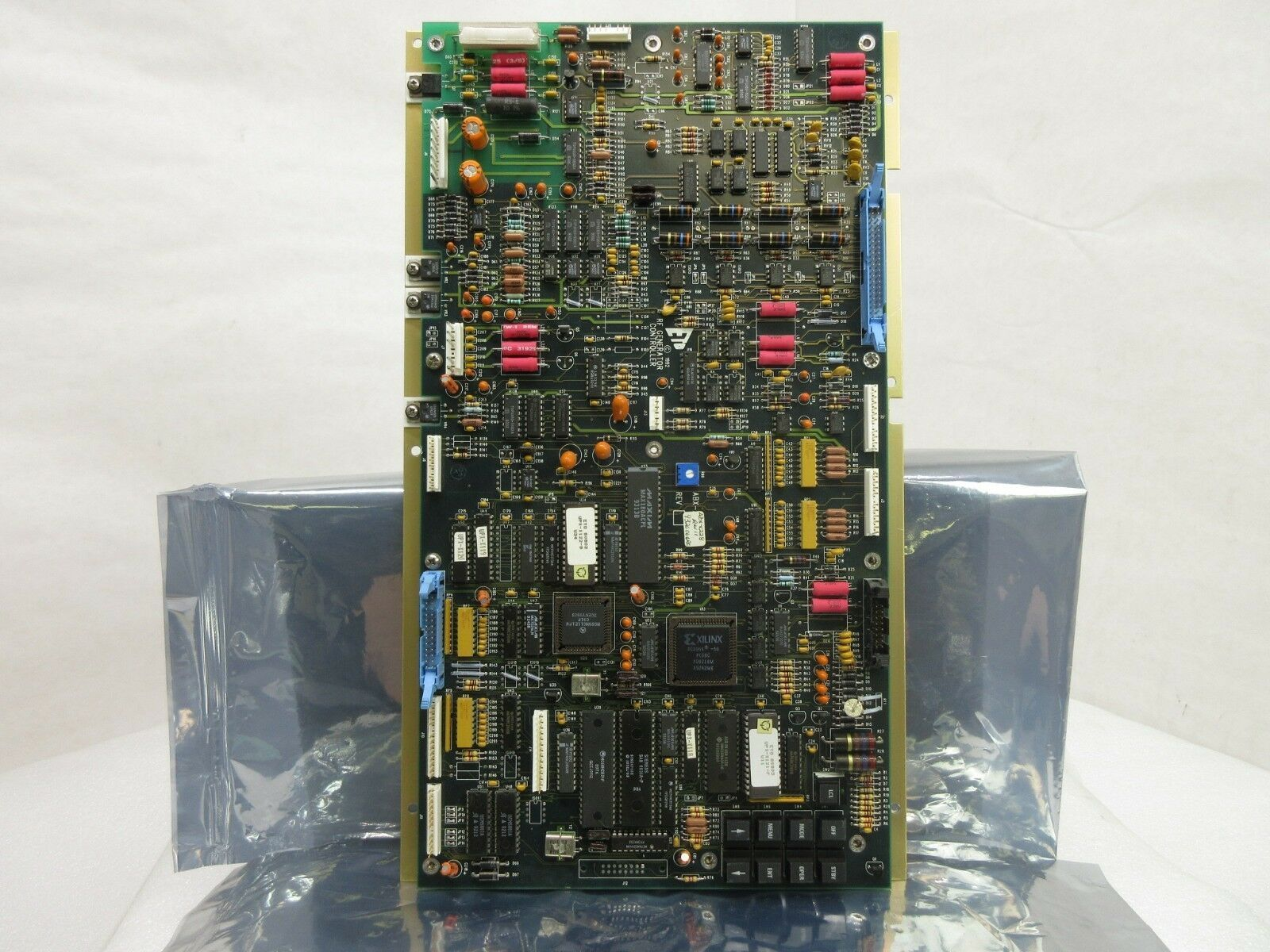 ETO Ehrhorn Technological Operations ABX-X228 RF Generator Controller PCB Used