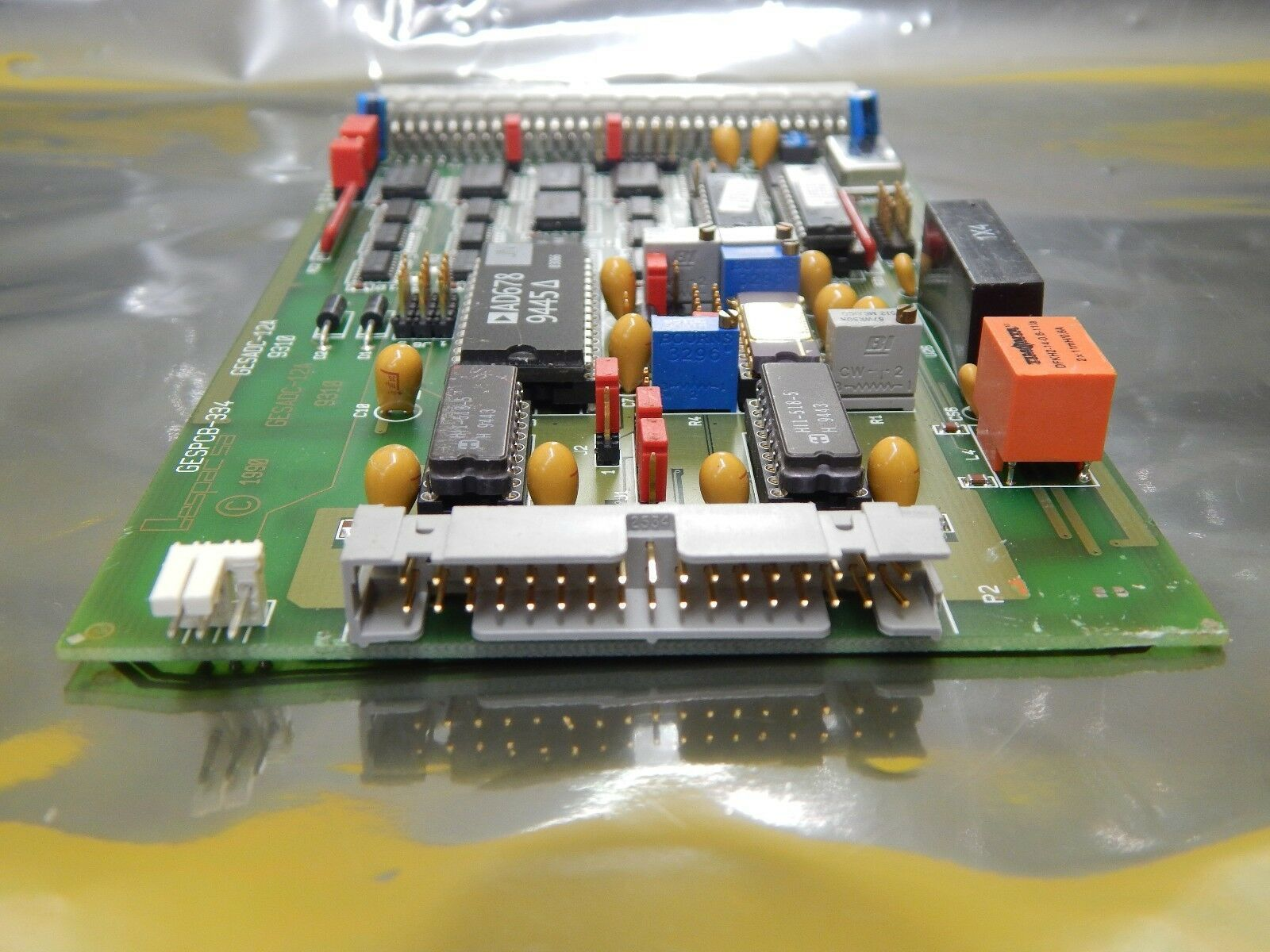 Gespac GESADC-12A ADC PCB Card GESPCB-334 ADC-12A OnTrak DSS-200 Used Working