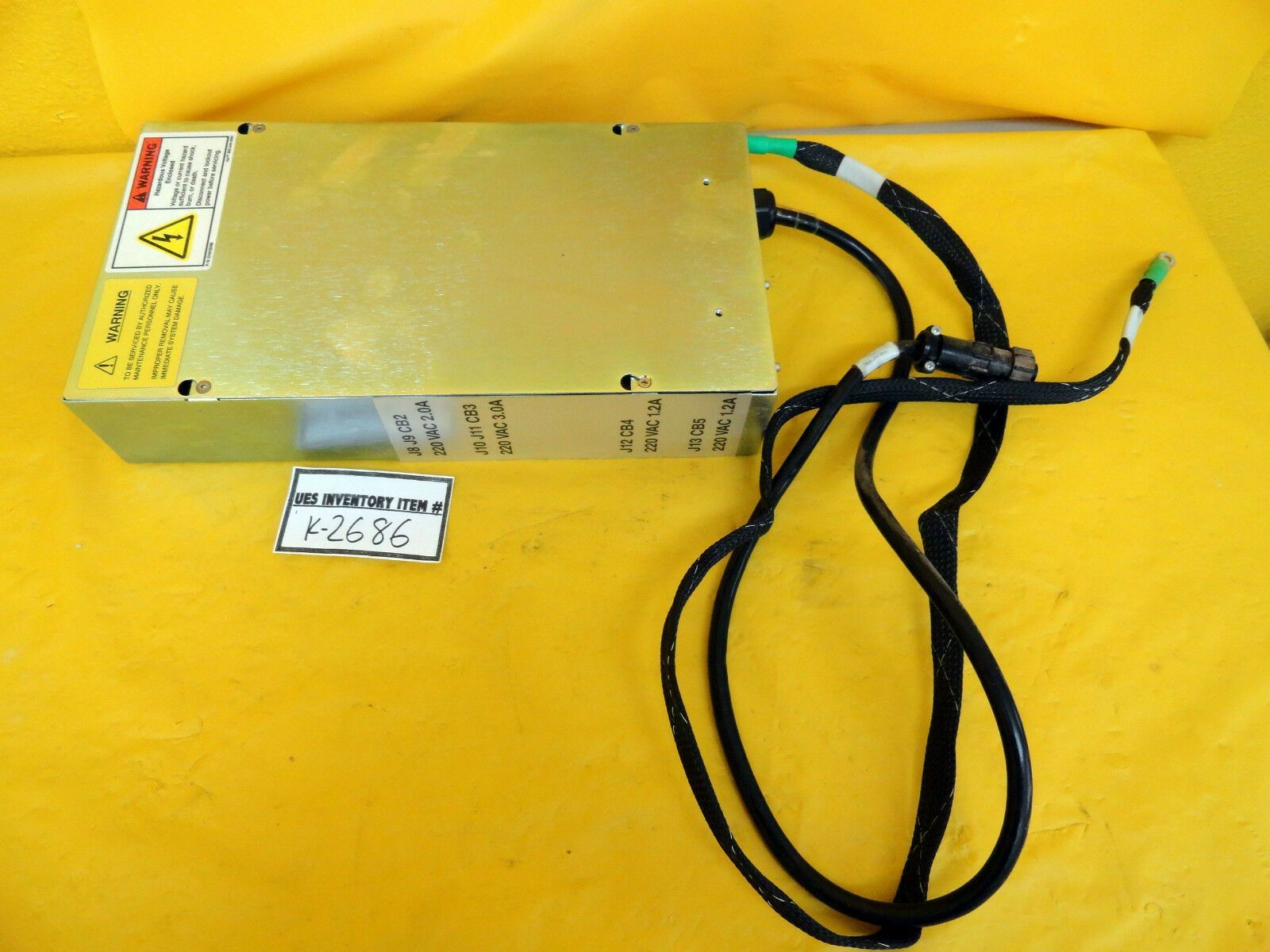 KLA-Tencor SP1 Power Supply Module 0002063-000 Used Working