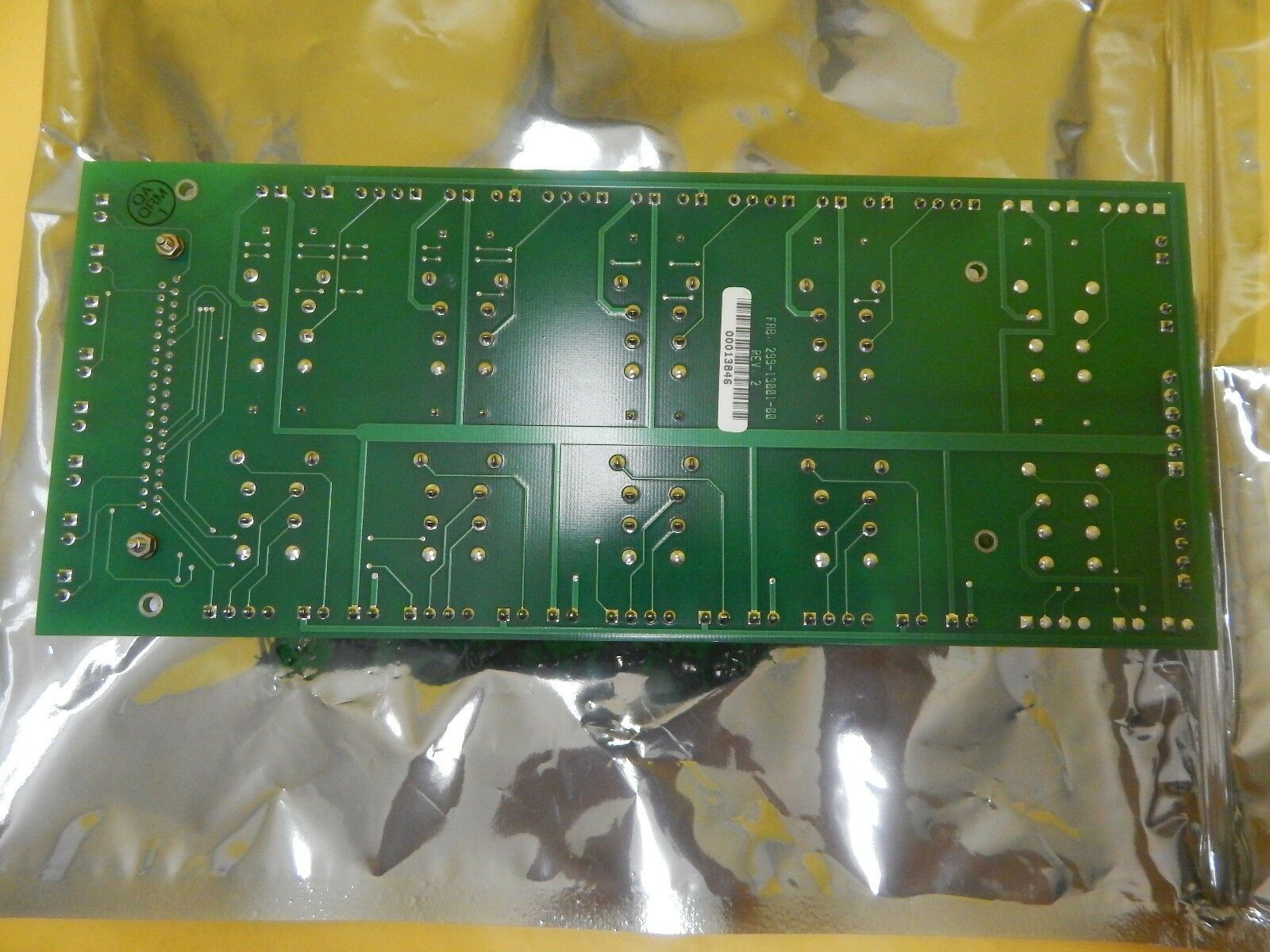 Mattson Technology 299-13000-00 Relay PCB Board 299-13001-00 Used Working