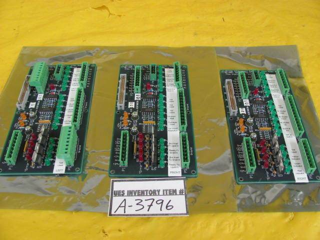View Engineering 2870030-501 Interconnect Sub-Panel PCB 8100 Lot of 3 Used