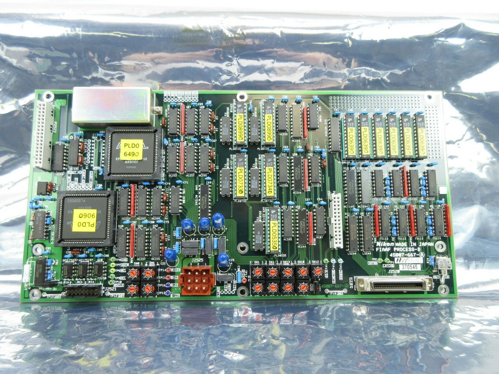 Nikon 4S007-667-A Processor Board PCB FIAAF PROCESS-D NSR-S202A Used Working