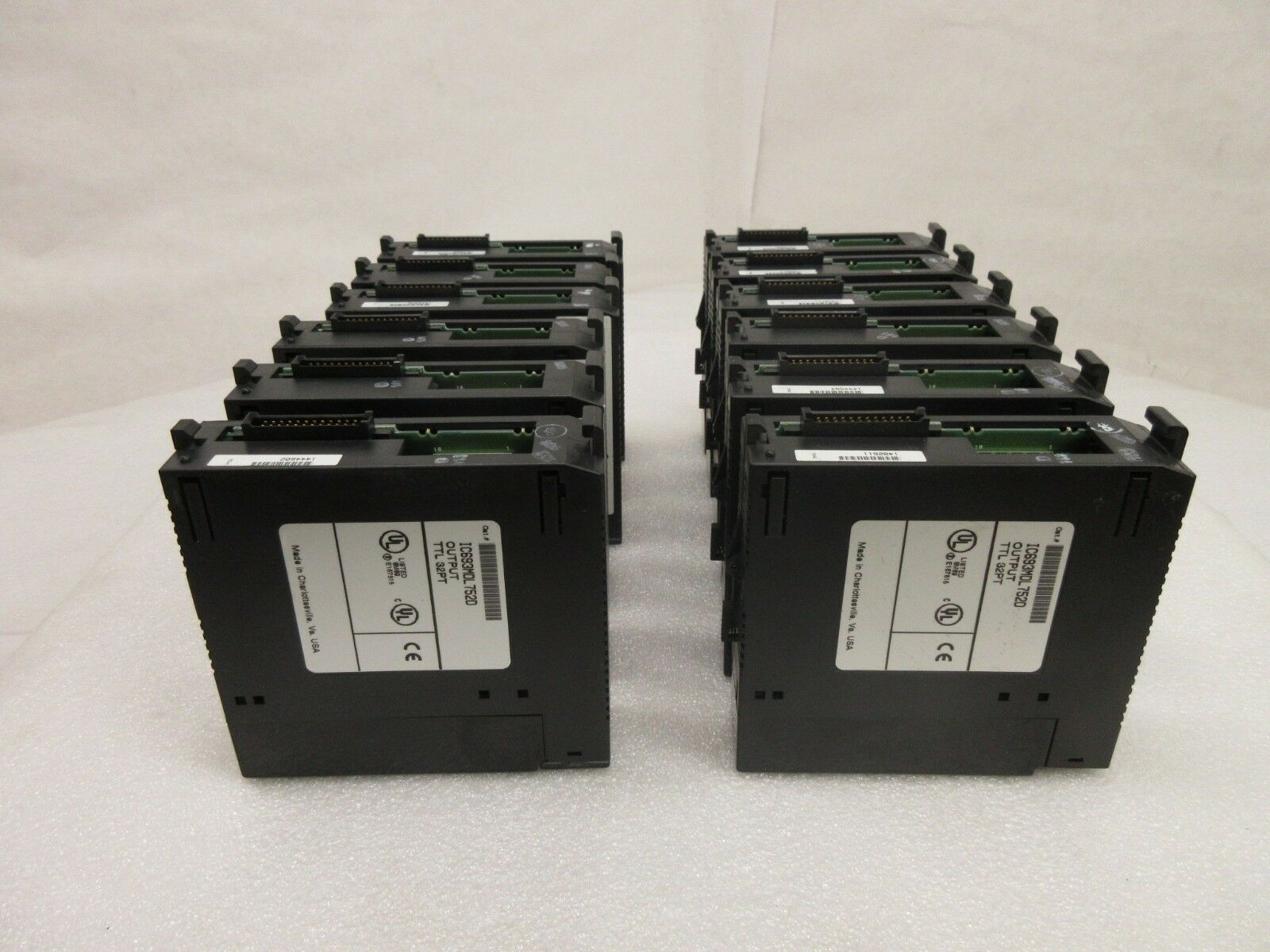 GE Fanuc IC693MDL752D PLC Output Module TTL 32PT Reseller Lot of 12 Used Working
