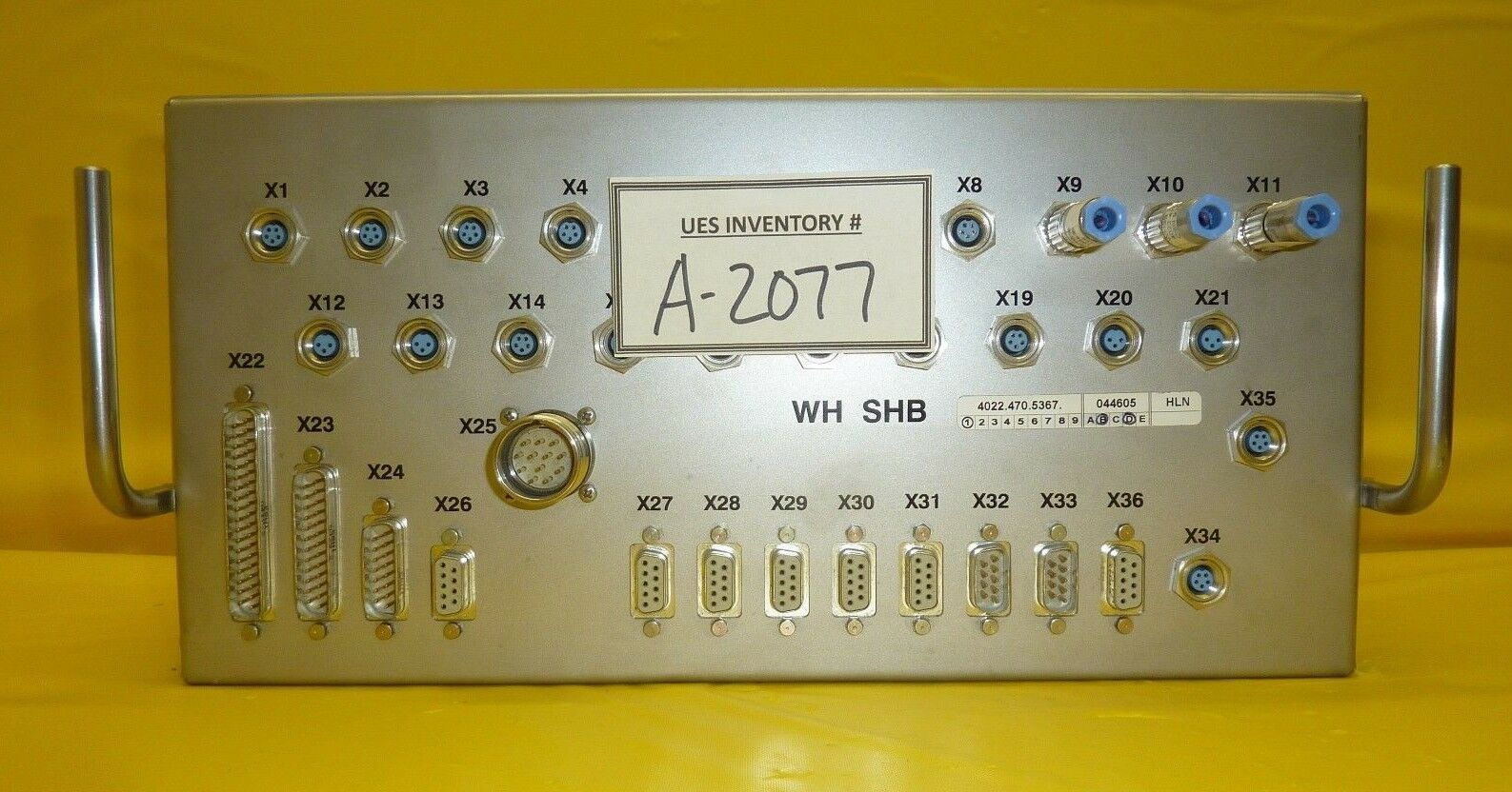 ASML 4022.470.6295 RH Handling Box SHB-RH Nikon NES1 Mini Stepper Used Working