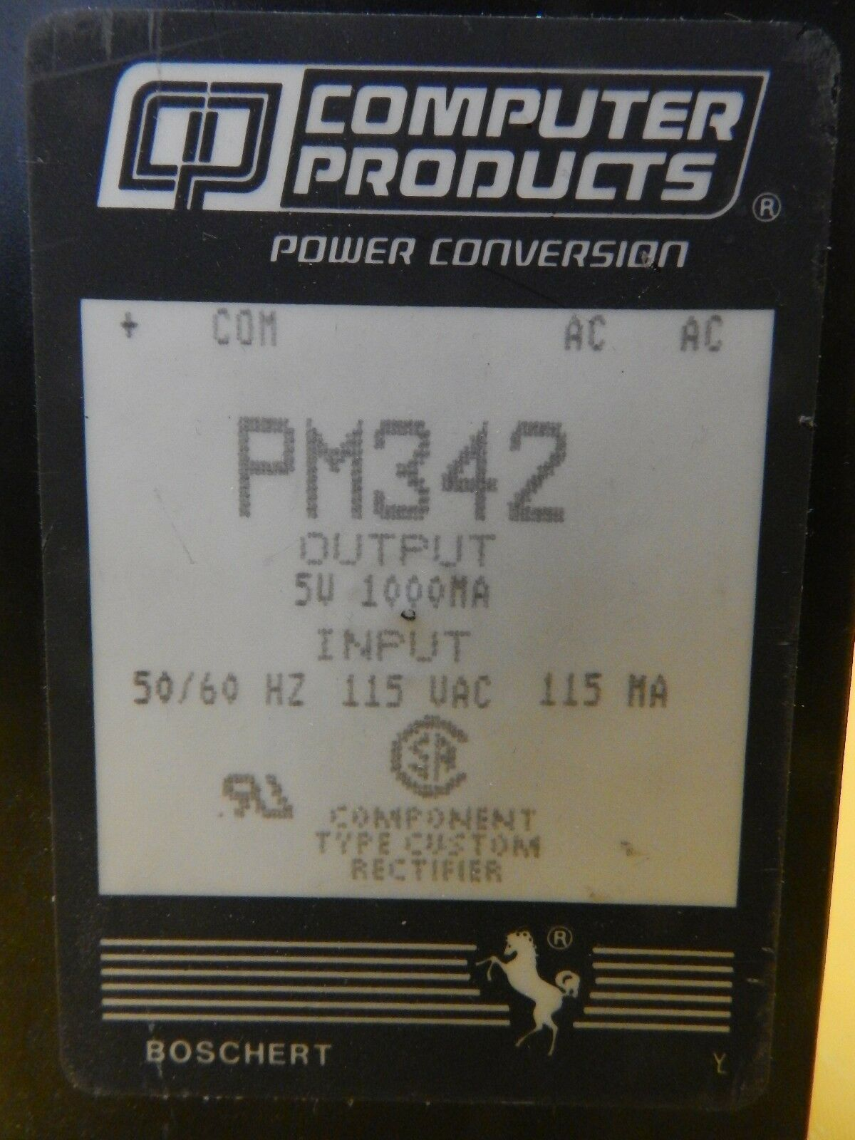 Computer Products PM342 Power Conversion Linear Series Reseller Lot of 4 Used