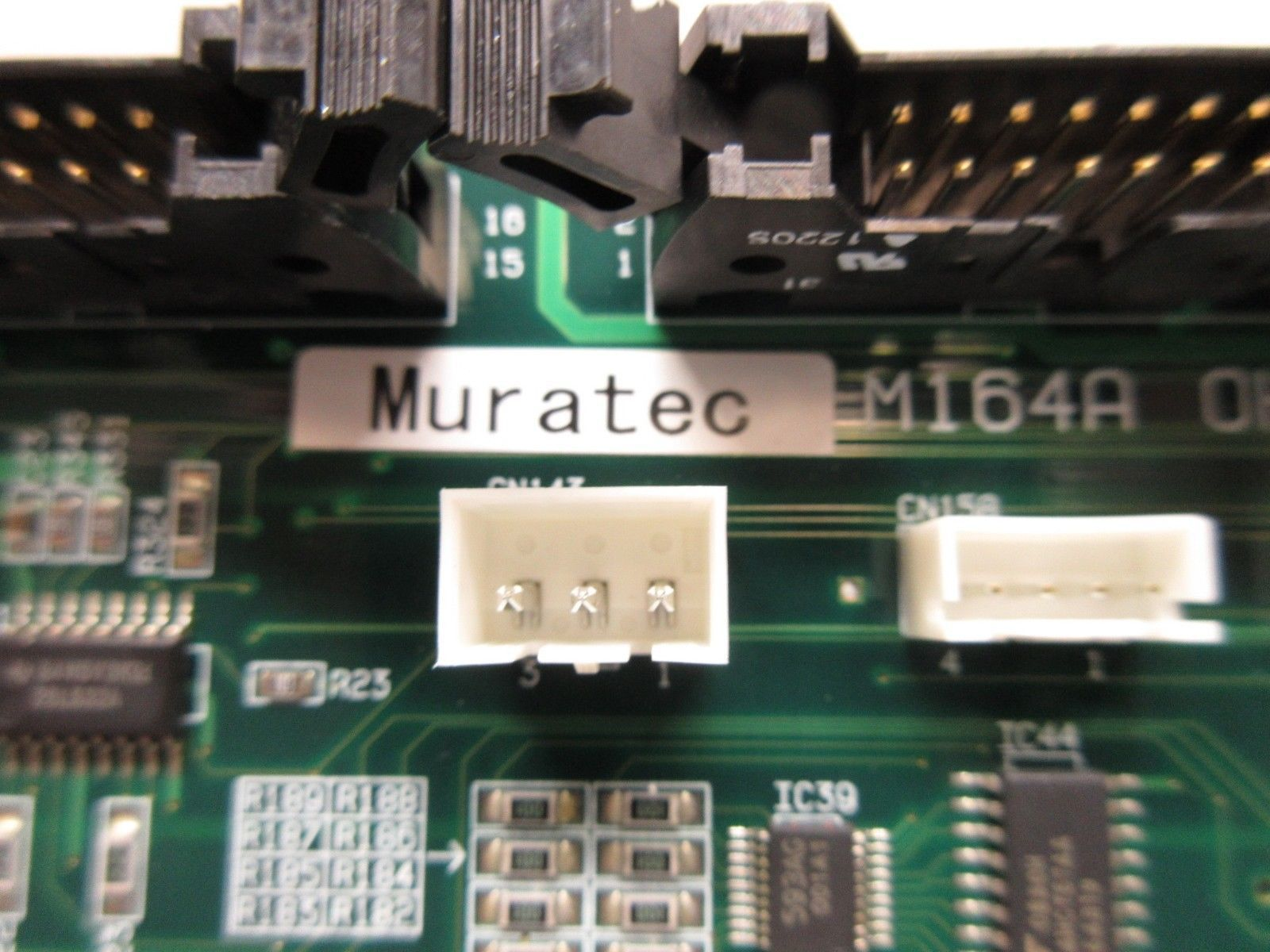 Muratec 3ASSYC805402 Interface Board PCB OHT-SRVC2 M164A Used Working