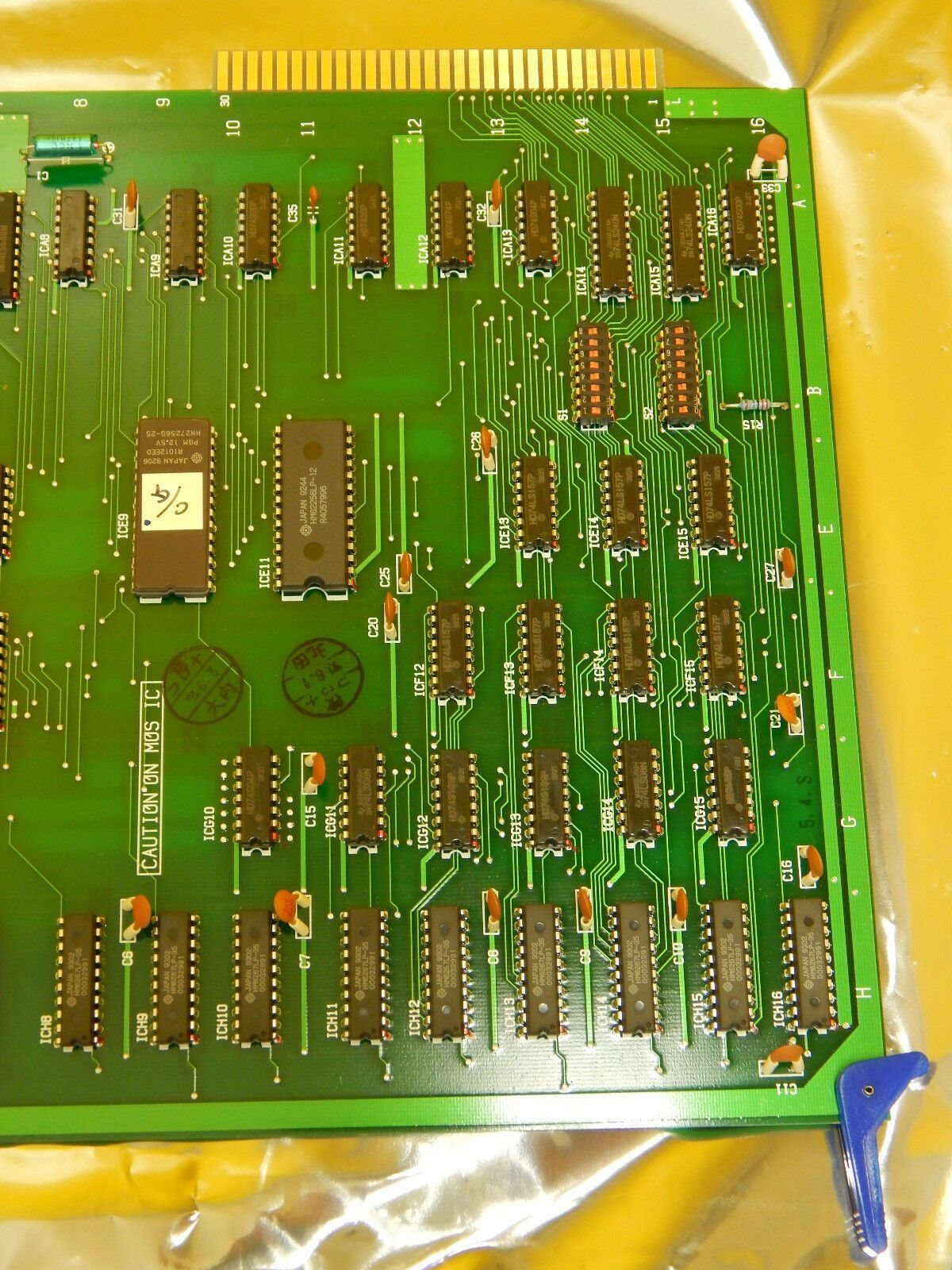 Hitachi 566-5513 PCB Card C/G RAM S-9300 Used Working