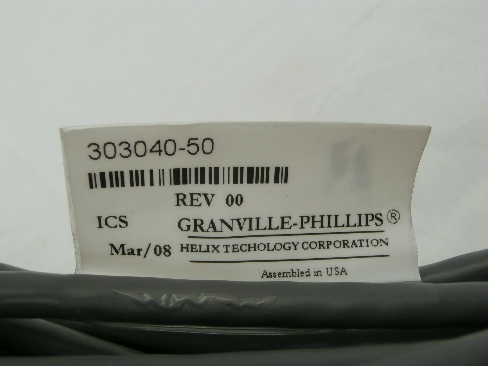 Granville-Phillips 275203 Dual Convectron Gauge Set with Cable 303040-50 Used