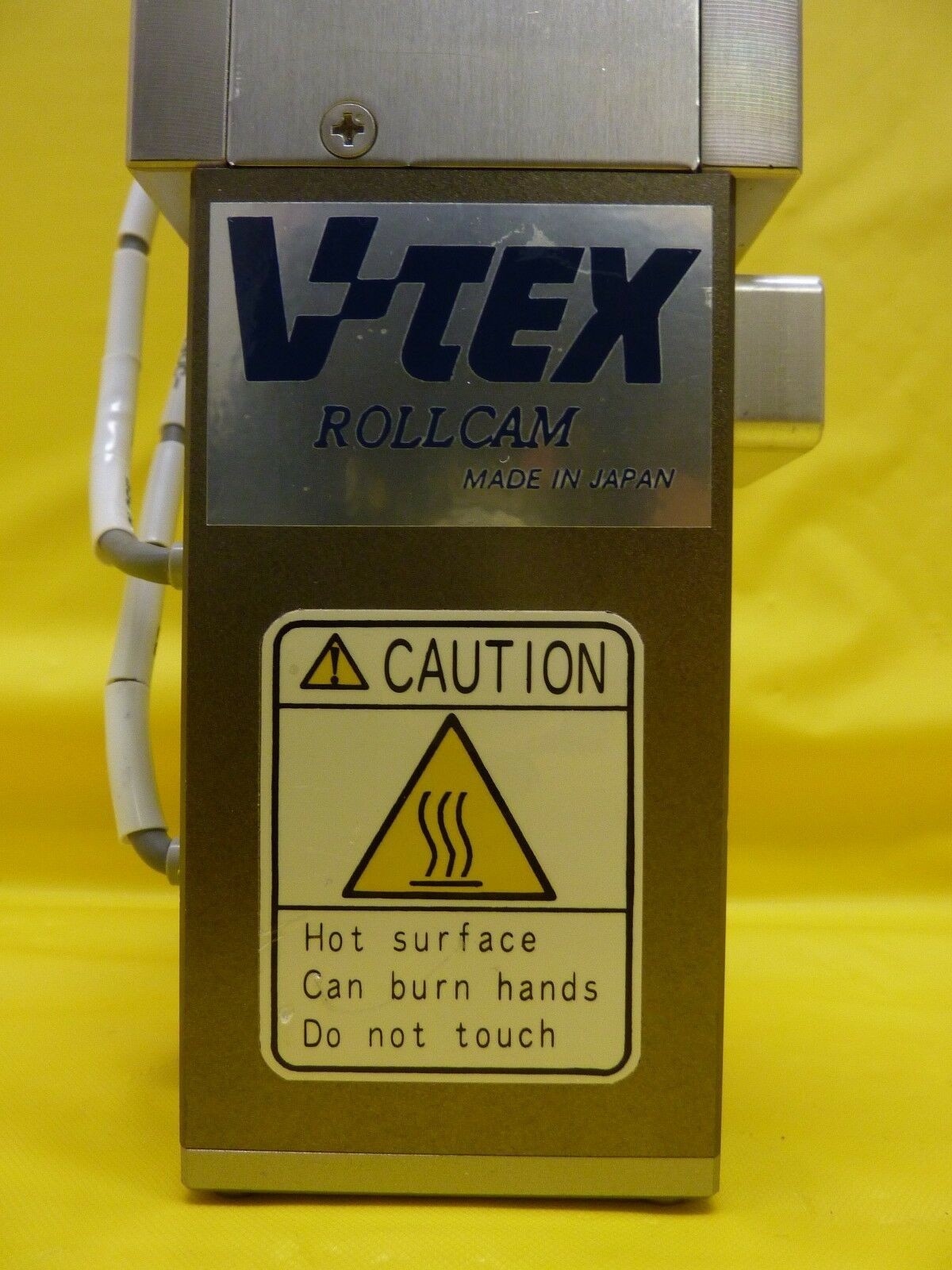 V-Tex IRF-03055-2-01 Pneumatic Slit Valve Rollcam NW50 Used Working