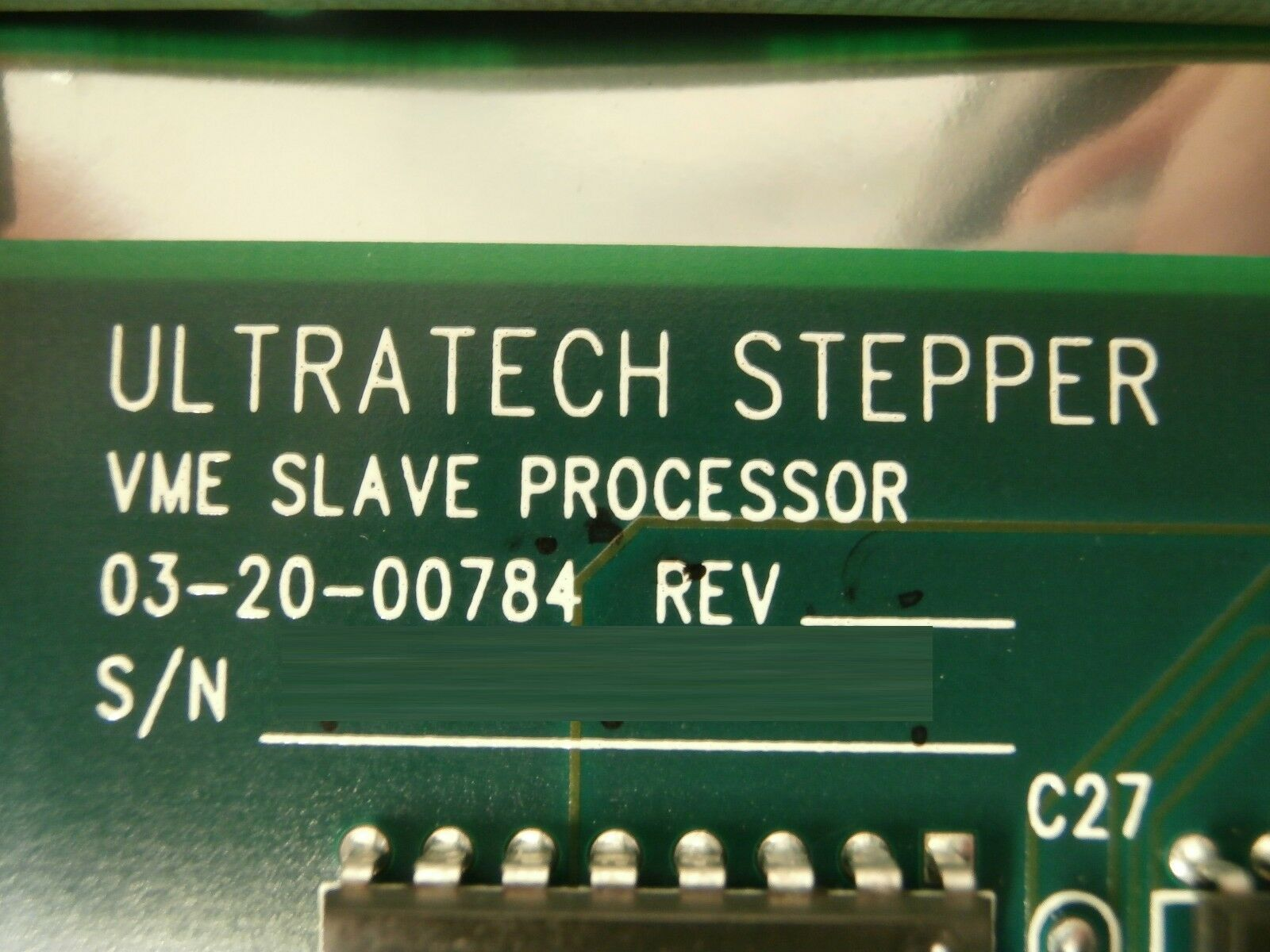 Ultratech Stepper 03-20-01403-11 VME 5 Axis Stage ASH PCB Card 4700 Titan
