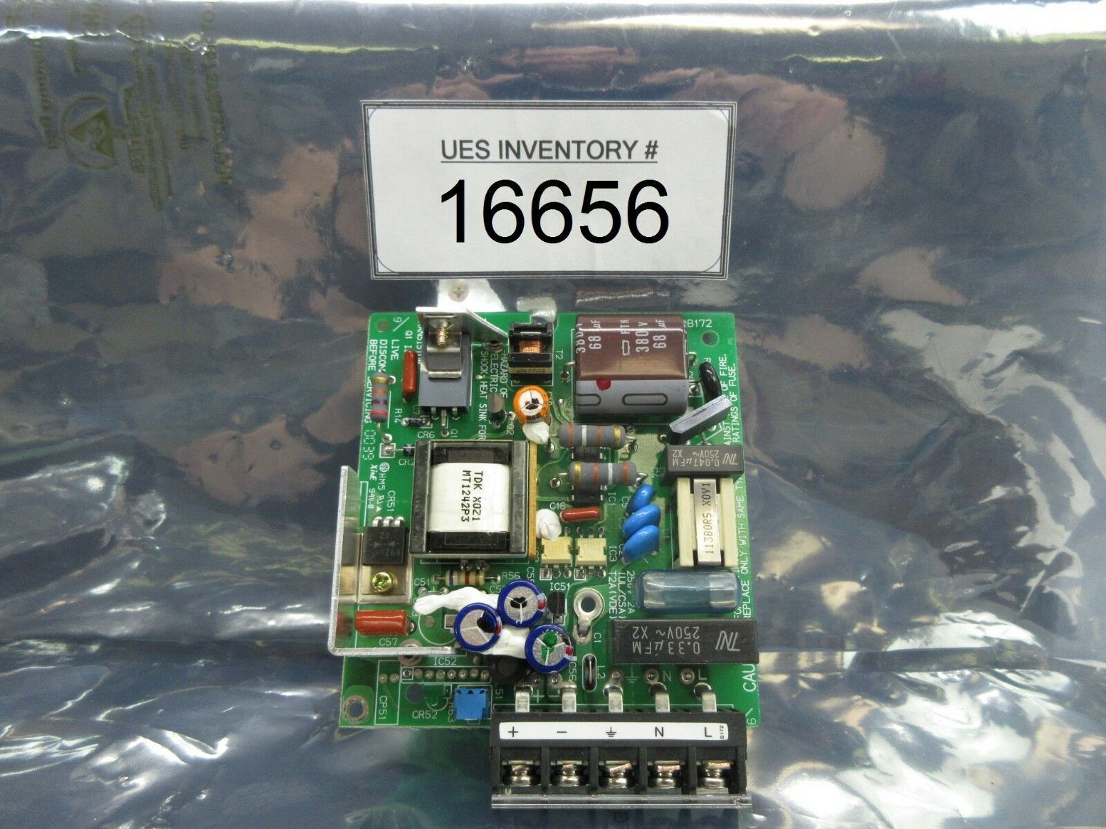 TDK 3EA00B172 Interface Power Supply Board PCB Used Working
