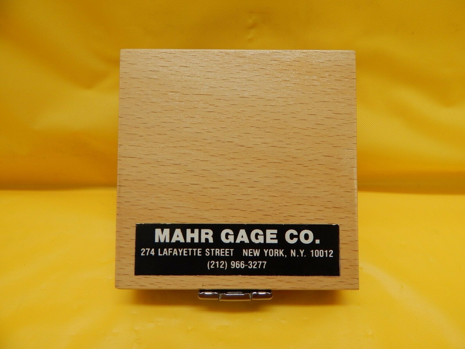 Mahr Perthen 6820101 Metrology Calibration Standard Gage PEN-10-1 Used Working