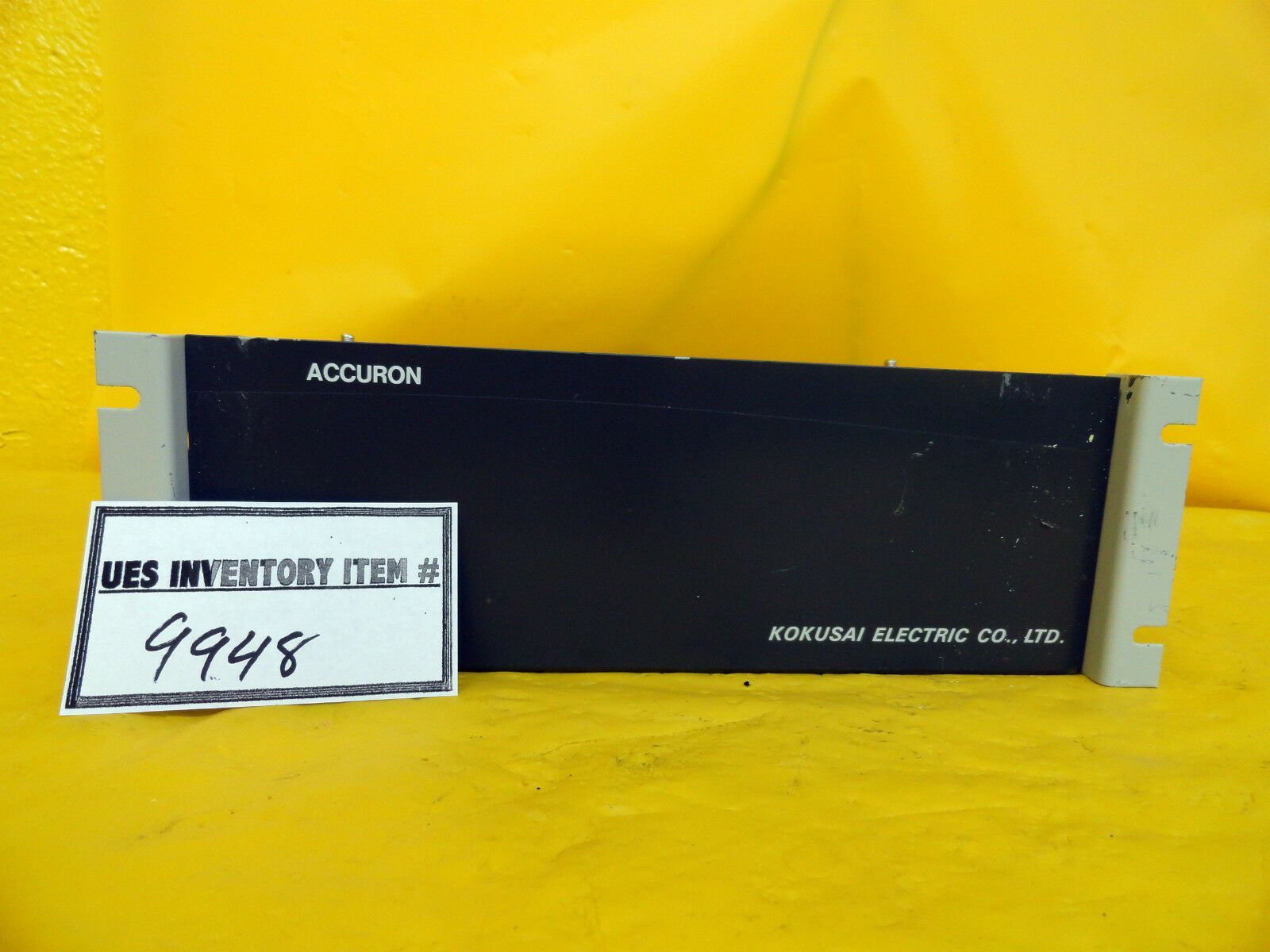 Kokusai Vertron Accuron Digital Controller CW1501A(01) Used Working