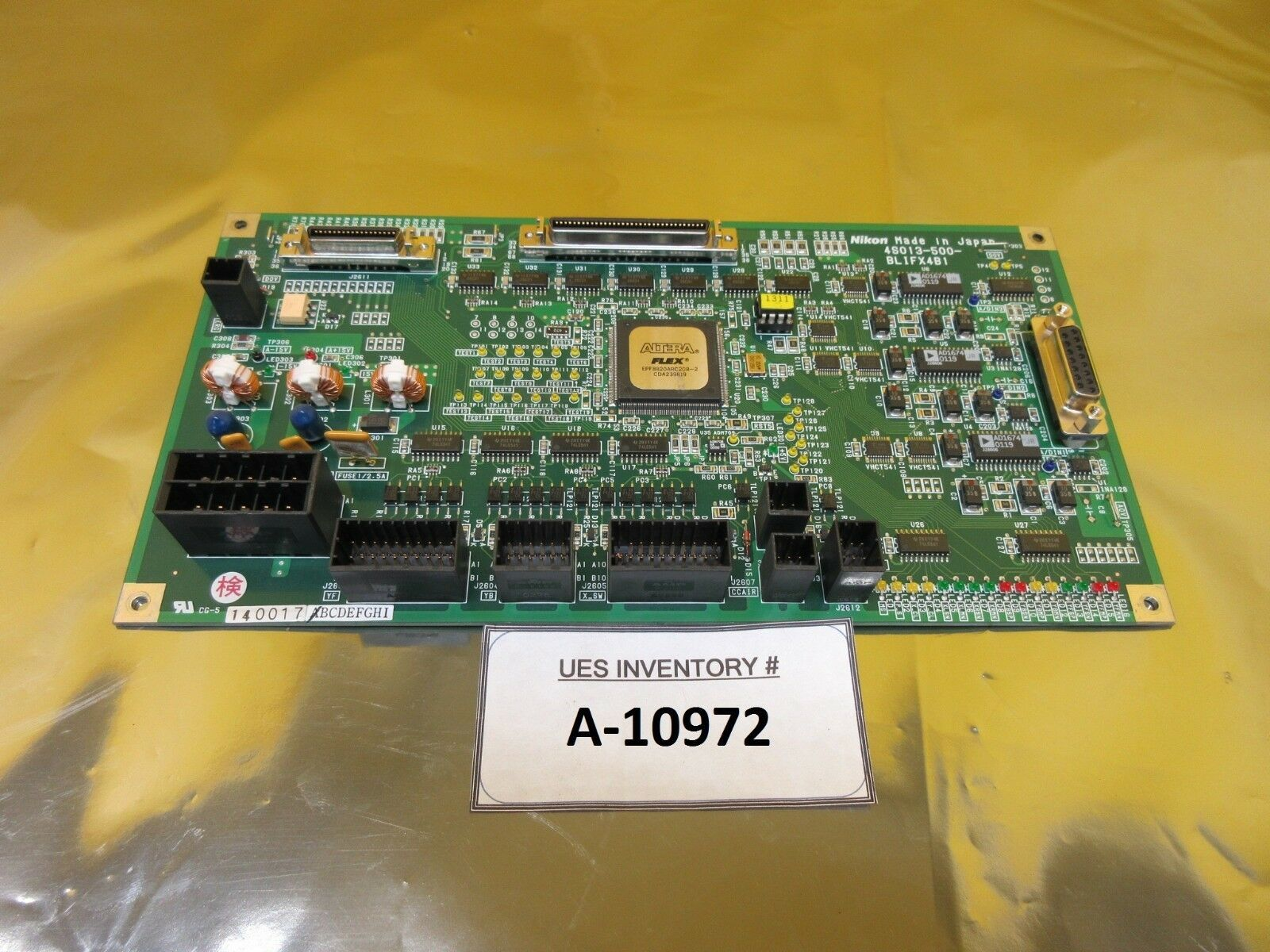 Nikon 4S013-500 Processor Interface Board PCB BLIFX4B1 NSR-S205C Used Working