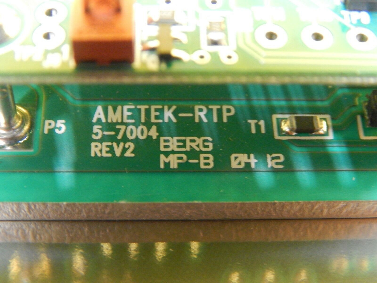 Ametek 5-7004 AMETEK-RTP Fan Control PCB Assembly 5-7006 Used Working