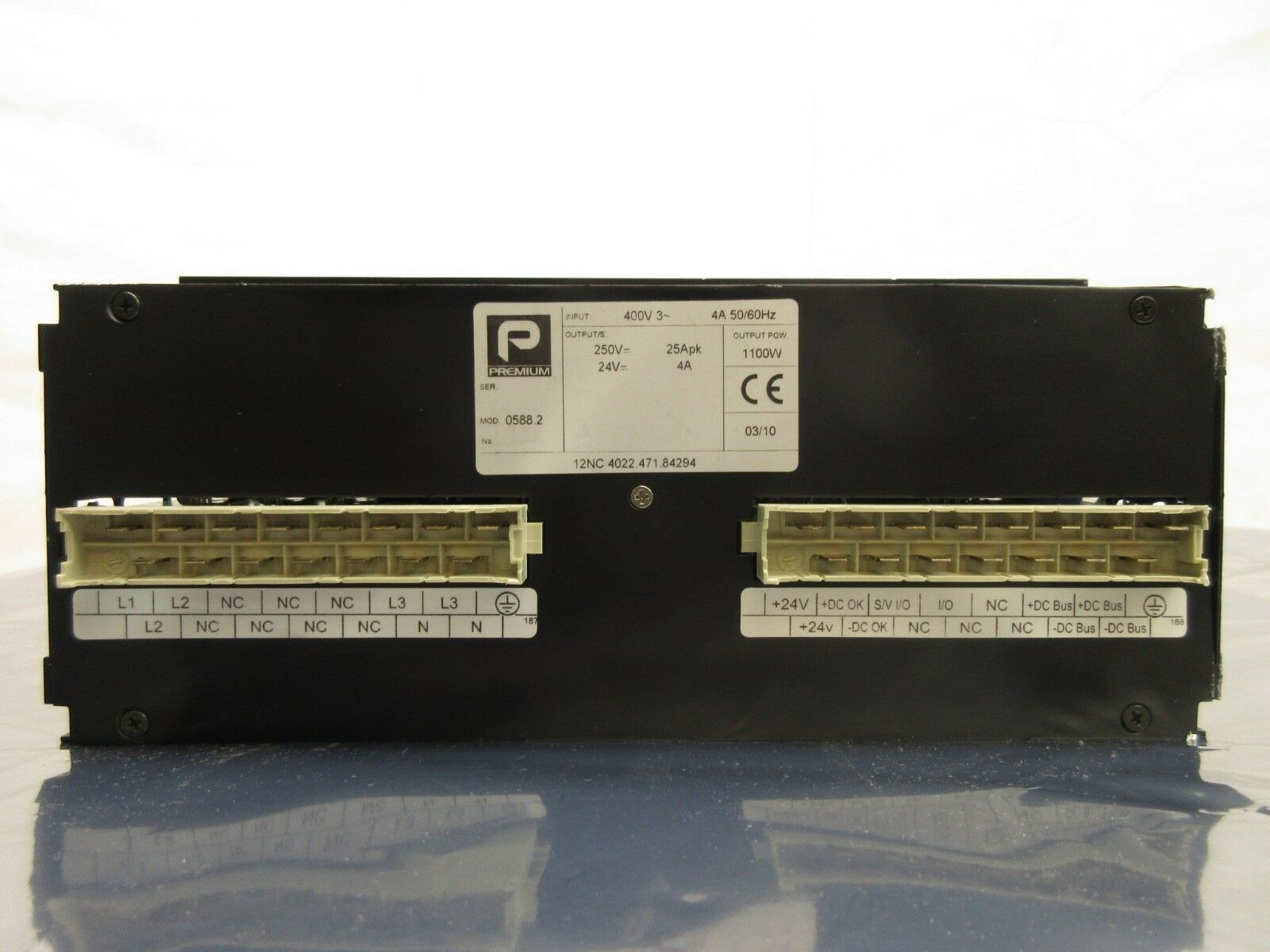 Premium 0588.2 Power Supply PCB Card ASML 4022.471.84294 Used Working
