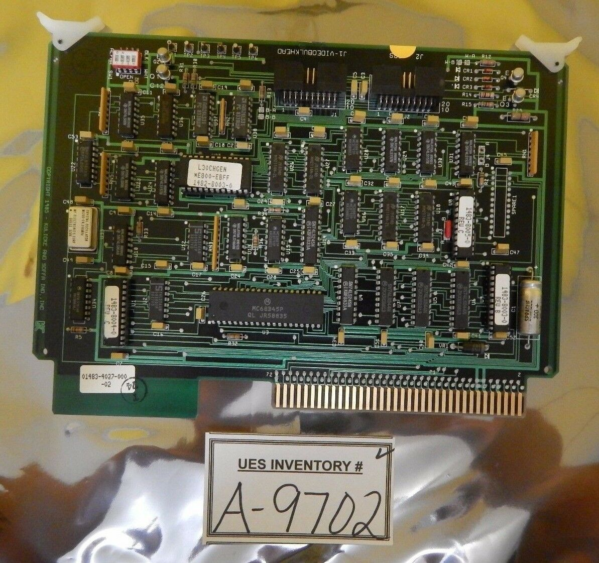 Force Computers 880-12537-101.A3 PCB Card SYS68K//CPU-6VB Used Working