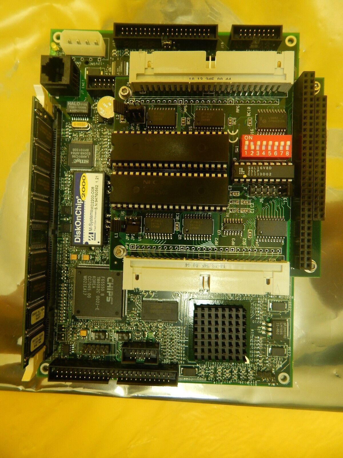 Ampro Computers LB3-48E-Q-01 SBC Single Board Computer PCB KLA CRS-3000 Used
