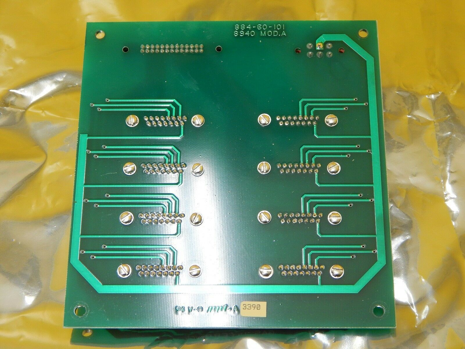MRC Materials Research 884-60-000 Gas Interface PCB Rev. D Eclipse Star Used