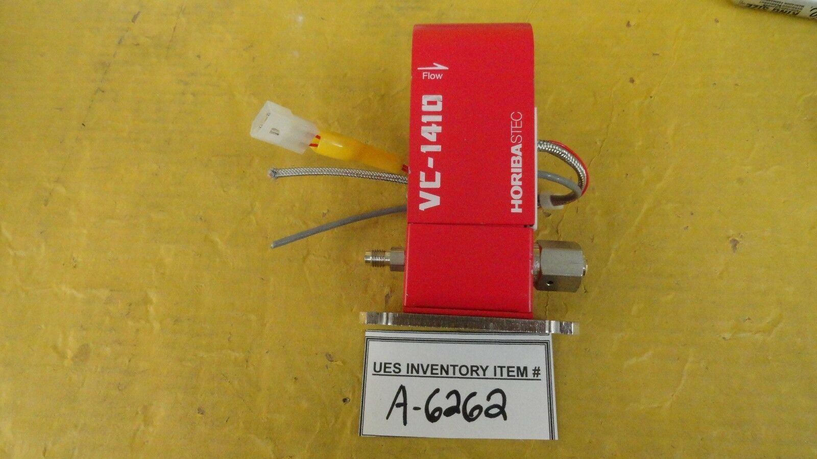 Horiba STEC VC-1410 Injection Valve 200 SCCM BTBAS Used