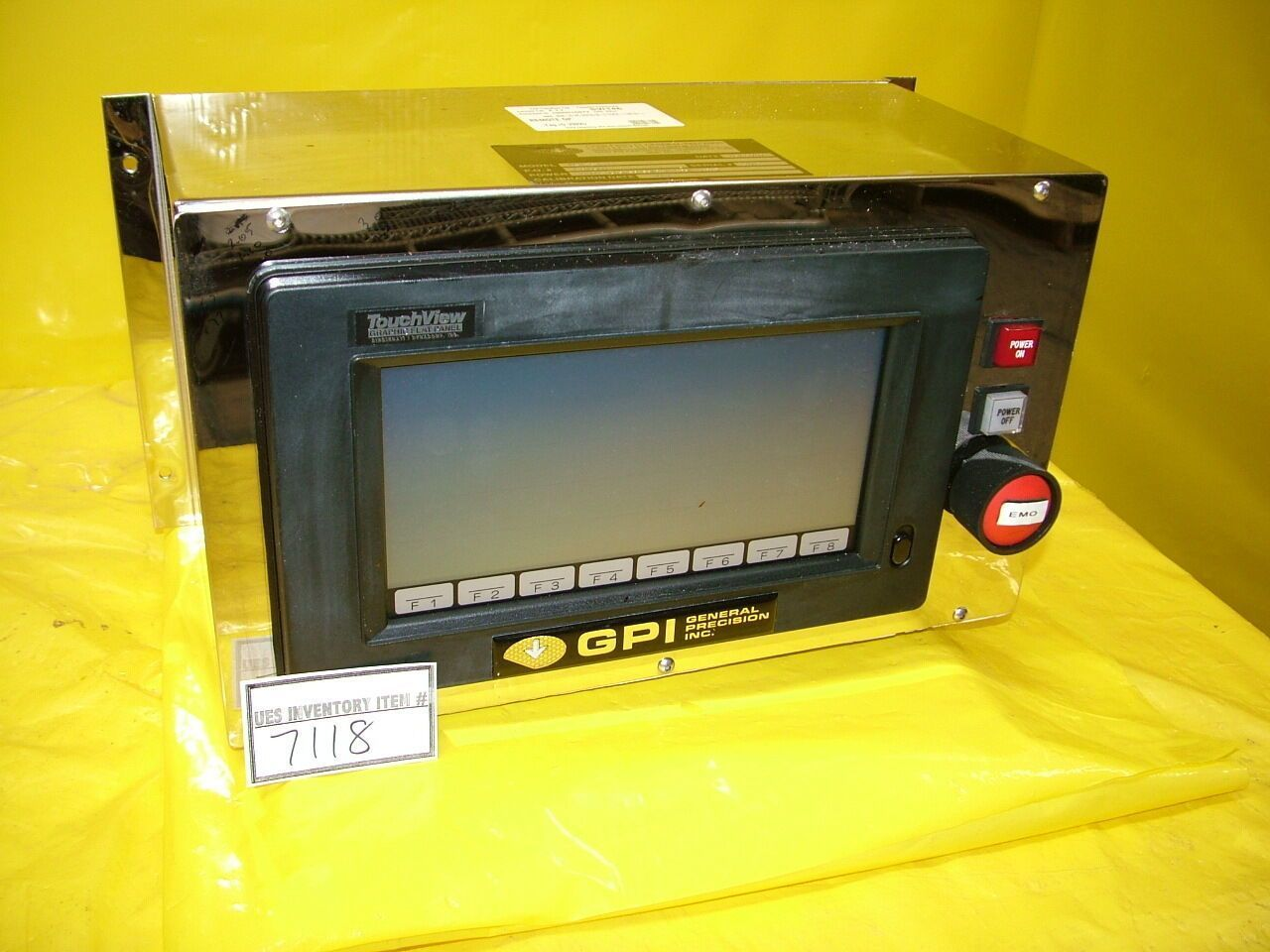 GPI General Precision RCD-1-4 I Remote Panel SVG 90S Used Working