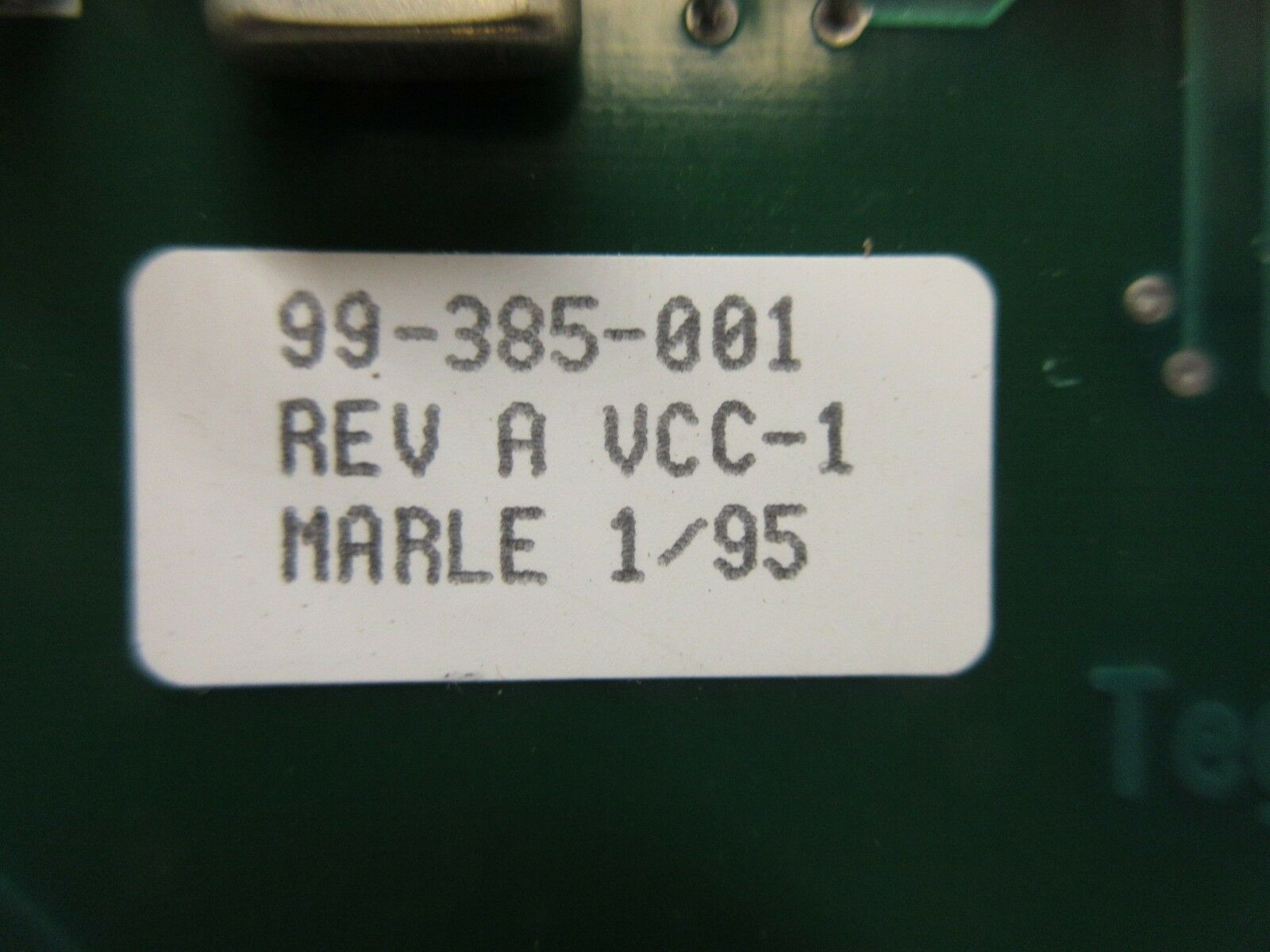 Tegal 99-385-001 DC/DC Converter Board PCB Rev. A 6500 HRe Dual Frequency Used
