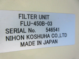 Nihon Koshuha MBA-010-H-2 1kW RF Matching Box & Filter Unit Used Working