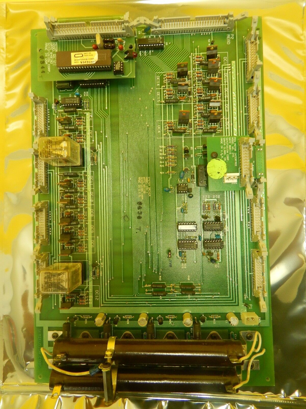 Semifusion 131-1 System Driver PCB Board 245 311 Ultratech UltraStep 1000 Used