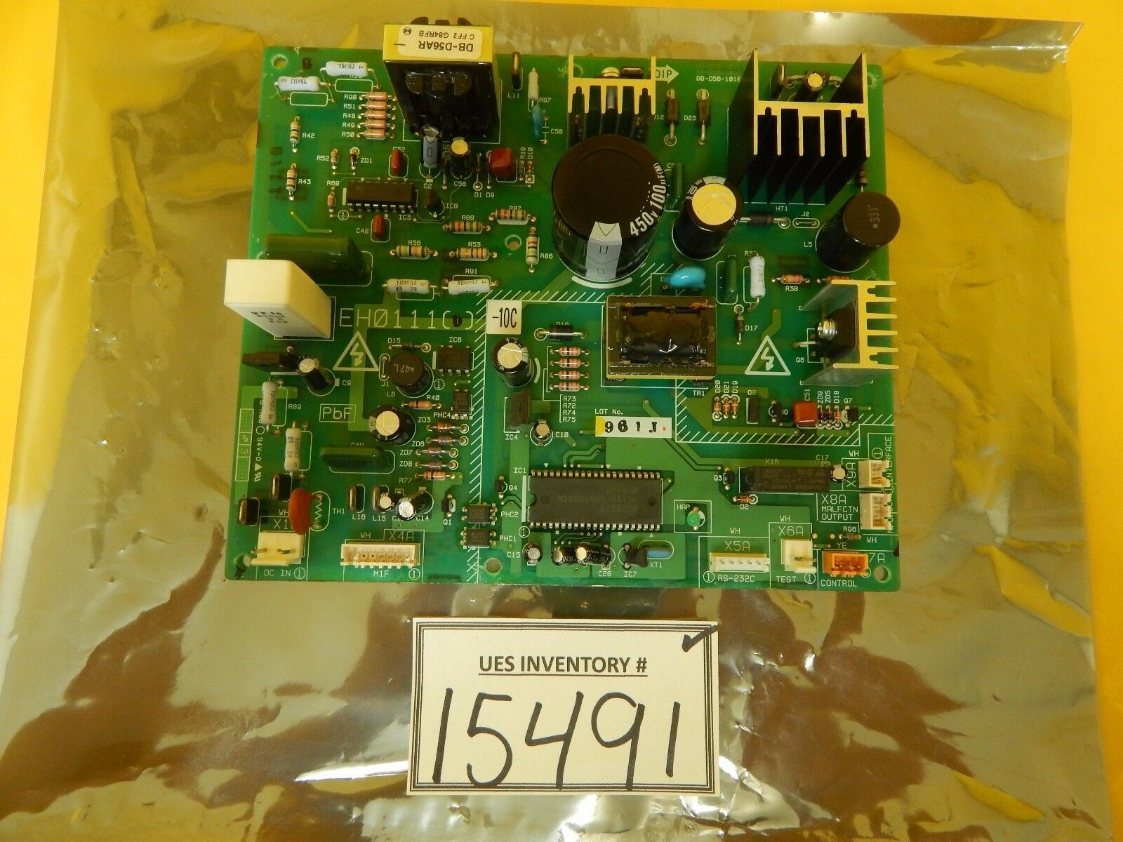 DIP Incorporated EH0111(D)-10C Power Supply PCB EH0111 DB-D56-101E Used Working