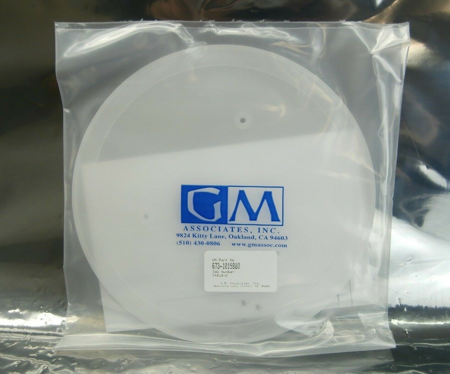 GM Associates 673-1015980 Pedestal Nest 40D C'BORE 1015980-07 GMA347-0011 New