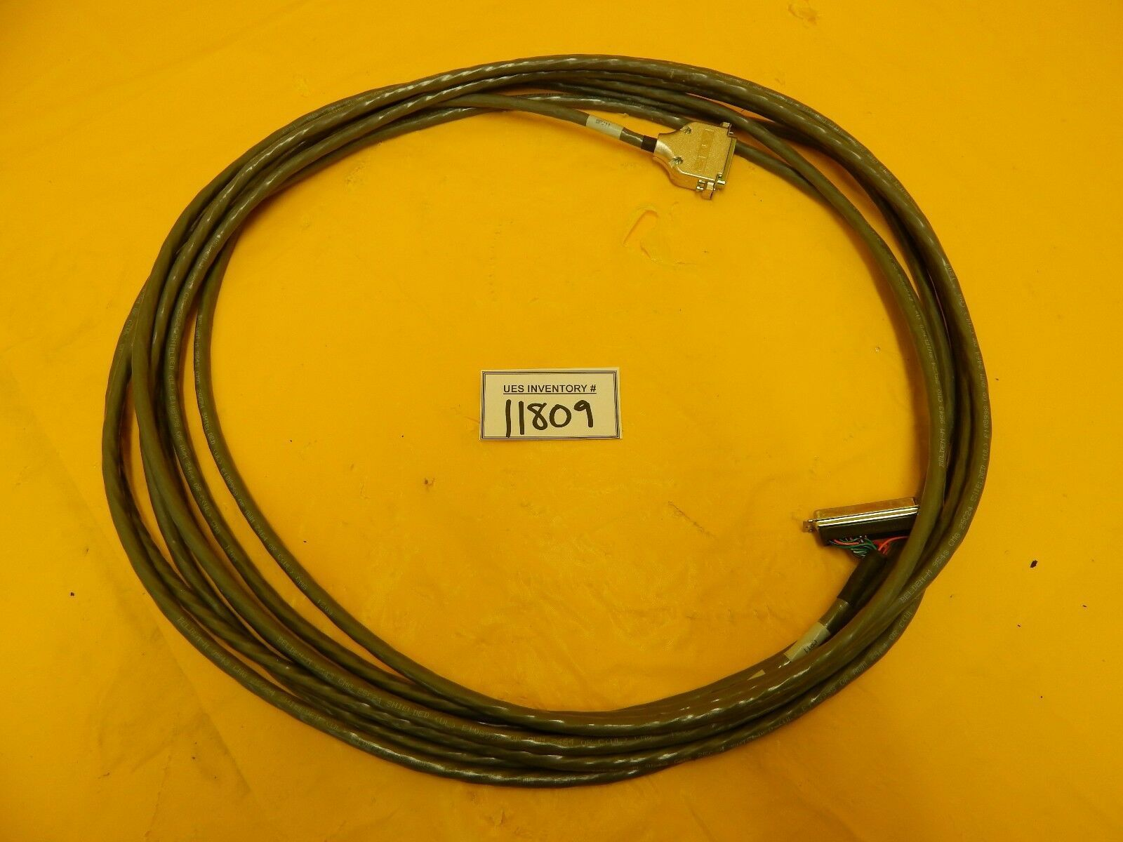 AMAT Applied Materials 0150-35642 C/A M/F EXH Umbilical 32' Cable Used Working