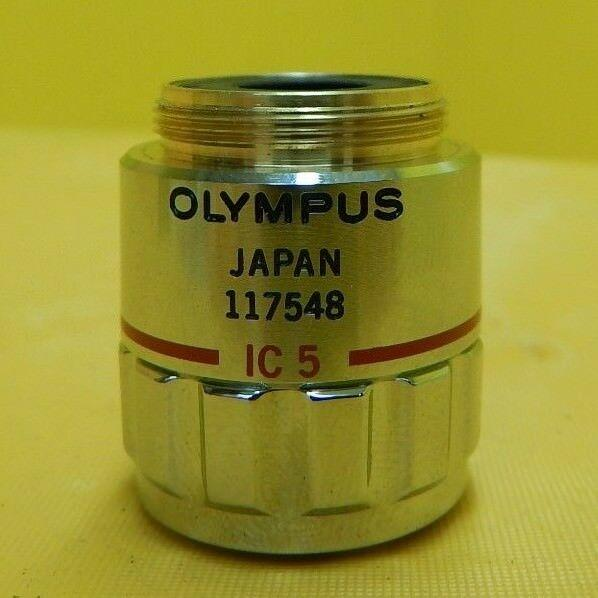 Olympus MSPlan 5 Microscope Objective 0.13 ∞/- f=180 IC 5 Used Working
