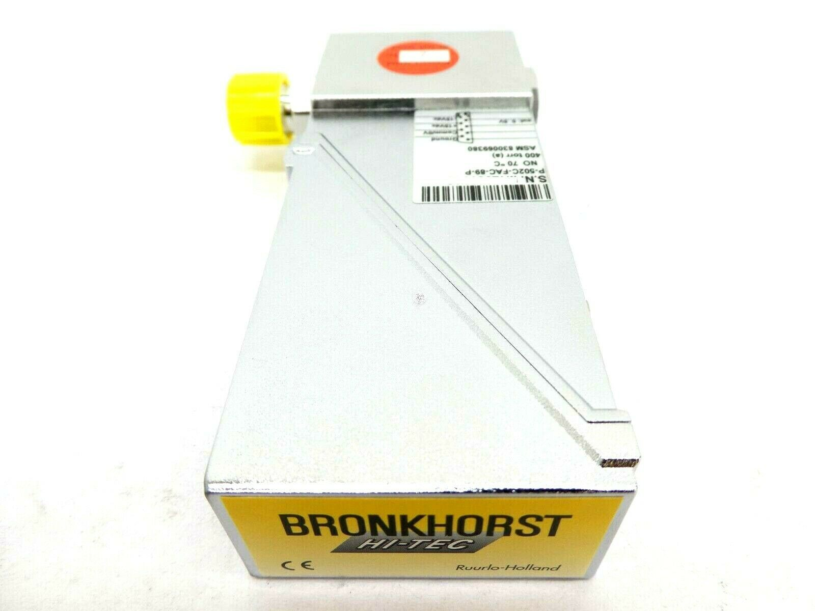Bronkhorst P-502C-FAC-89-P Pressure Controller NO EL-PRESS ASM 830069380 New