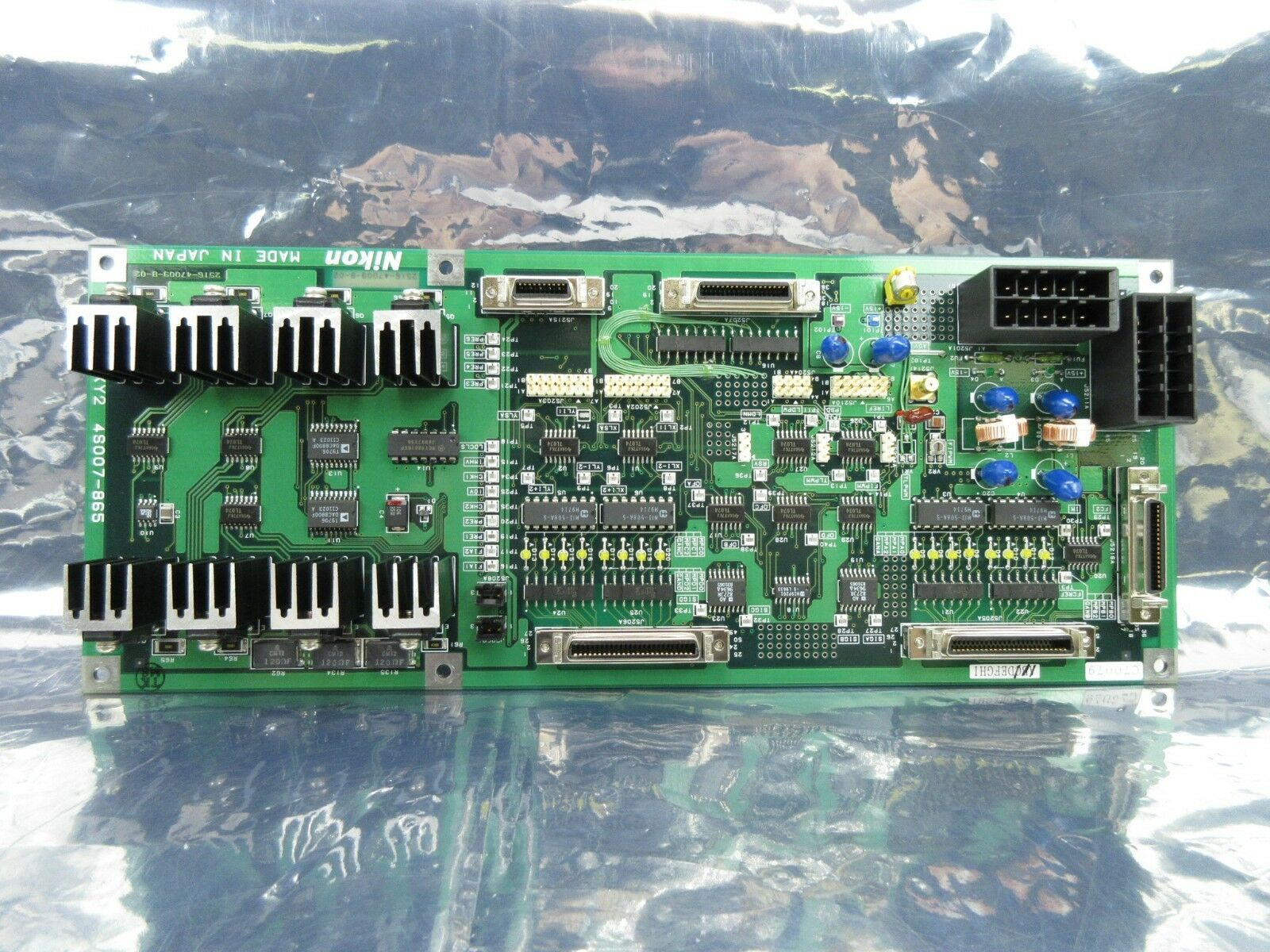Nikon 4S007-865 Interface Control Board PCB SR8-XY2 NSR-S202A Used Working