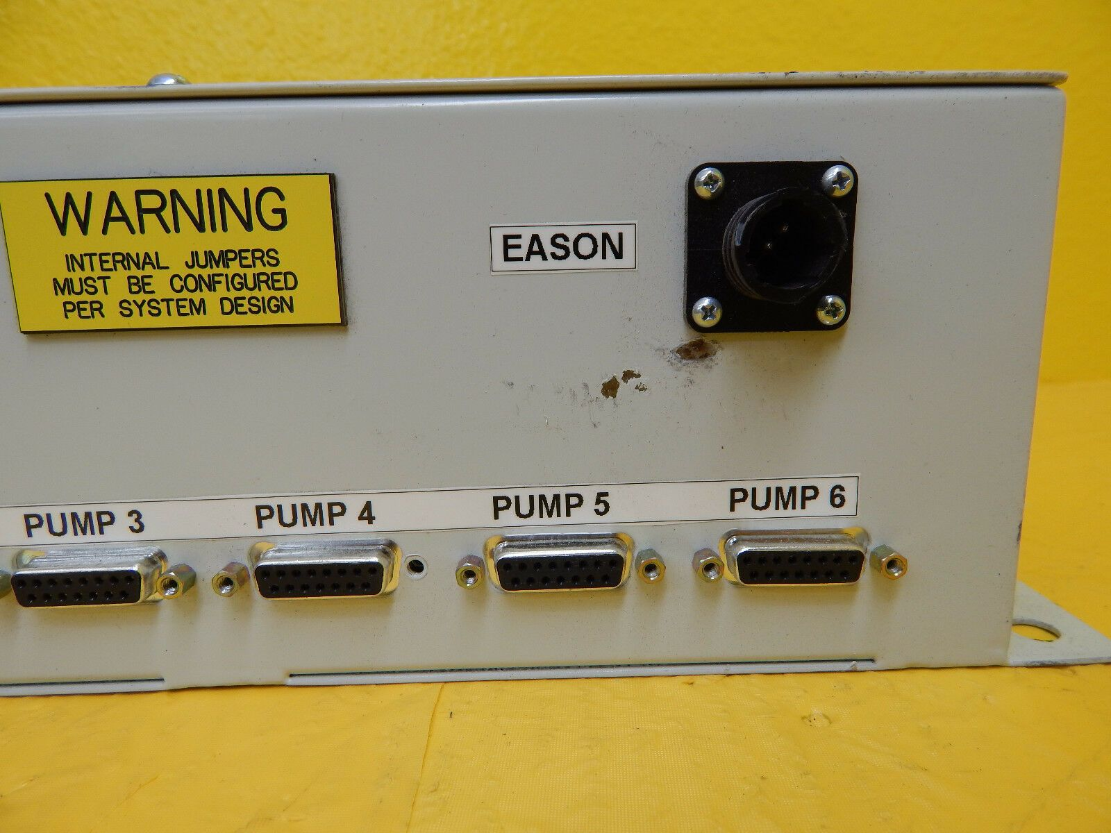 Edwards NRY0TN101US Eason Control Box Module Alarm Enclosure Rev. D Used Working