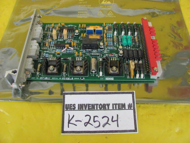 AMAT Applied Materials 0100-01351 Thermistor Gauge Controller PCB Card XR80 Used