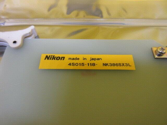 Nikon 4S015-094 Processor Card PCB NK386SX3 4S015-118 NSR-S202A Used Working